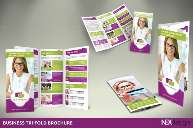 nexdesign-business-tri-fold-brochures