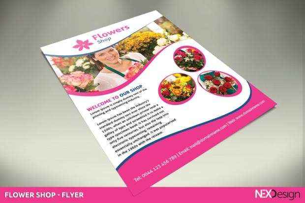 as-group-nex-design-flower-shop-flyer-1