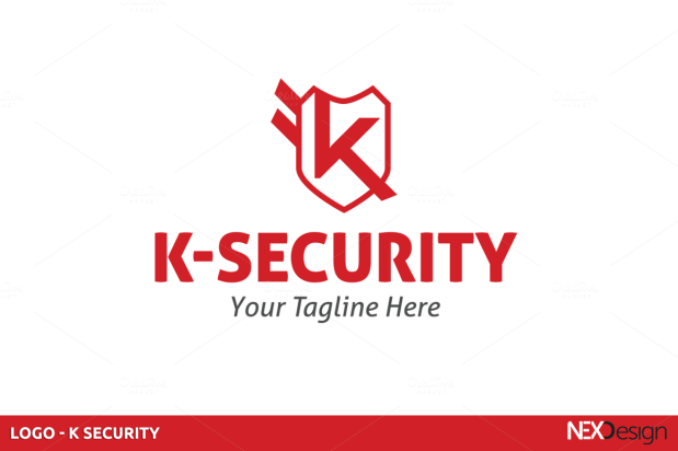 Security Company Logo Template
