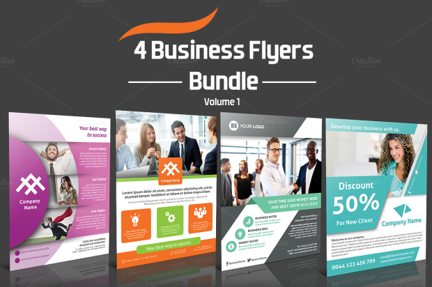 Business Flyer Bundle - v1
