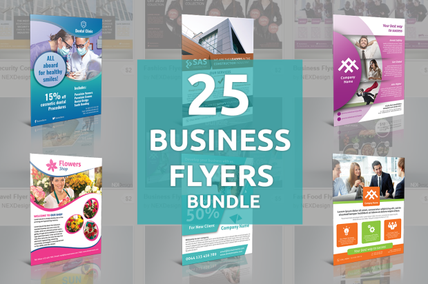 25 Business Flyers Bundle