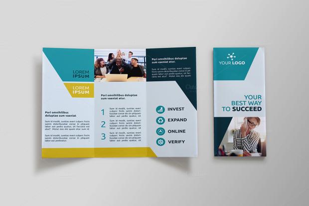 Business Tri-fold Brochure - MEM