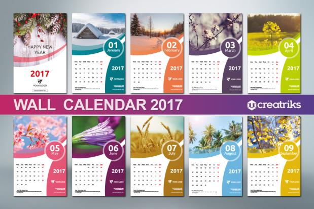 Wall Calendar 2017 - v003