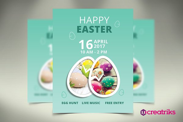 Heppy easter Flyer