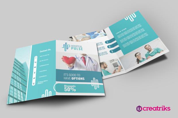 Hospital Pulse Bi Fold Brochure