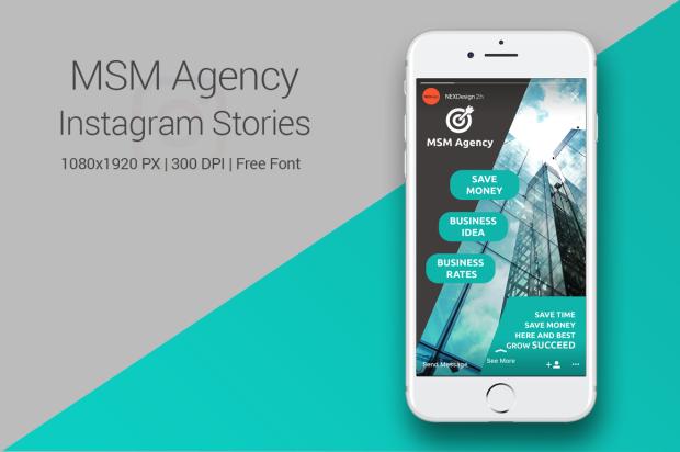 MSM Agency - Instagram Stories