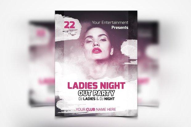 Party Flyer - UNIK Agency